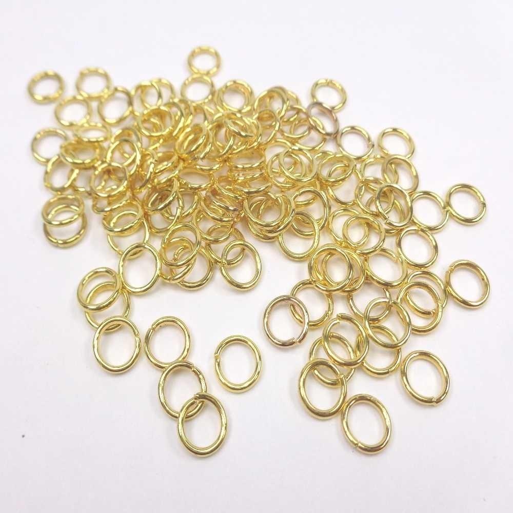 Argola dourada para pulseira