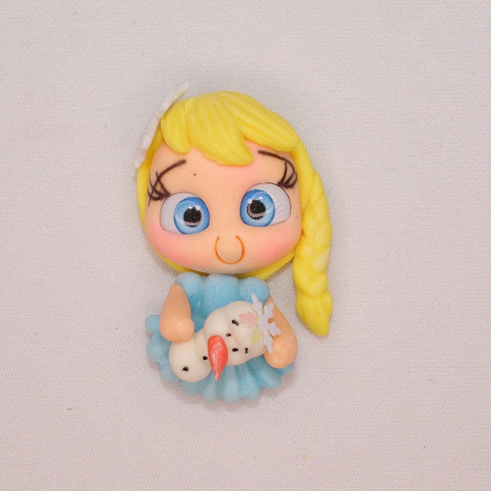 Aplique Biscuit - Princesa Frozen