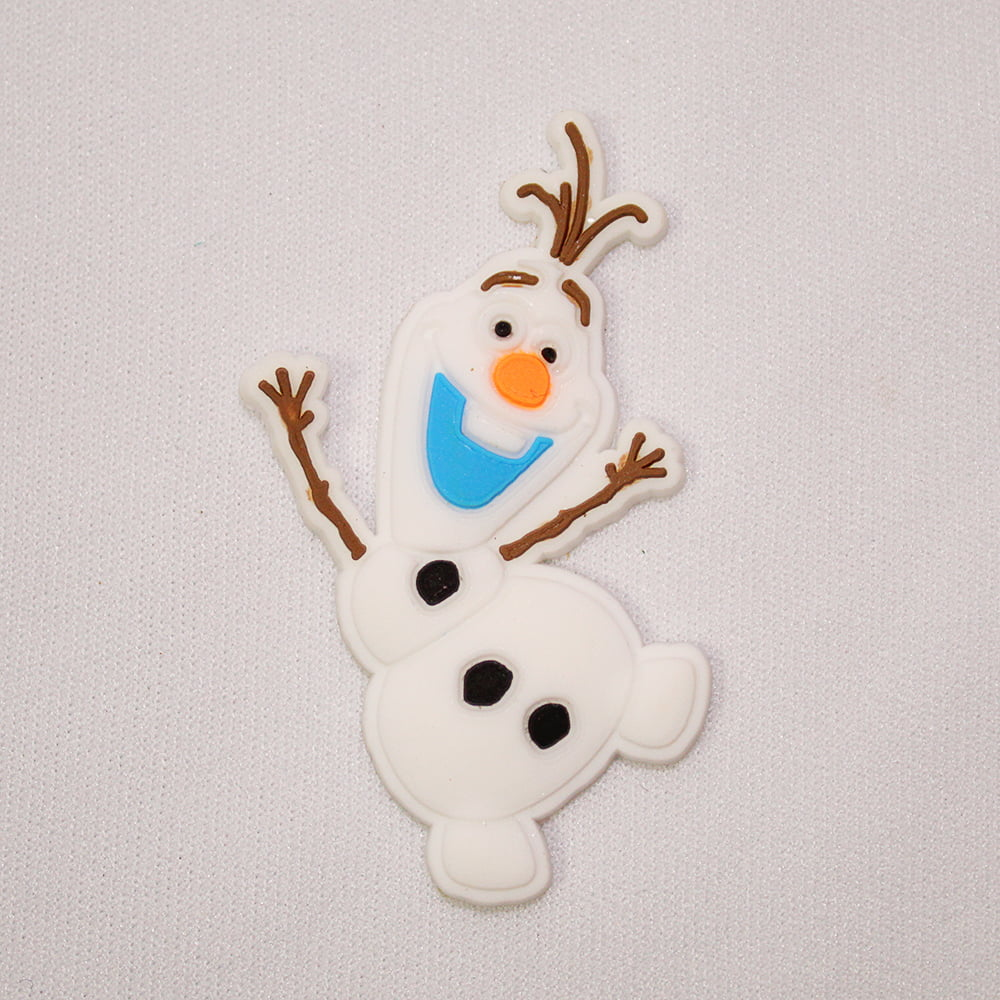 Aplique de Silicone - Olaf Boneco de Neve Frozen