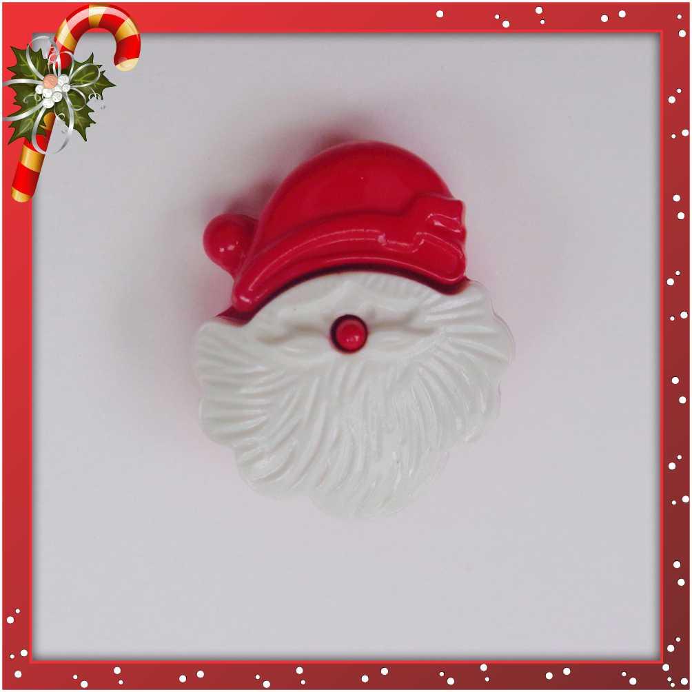 Botão - Papai Noel