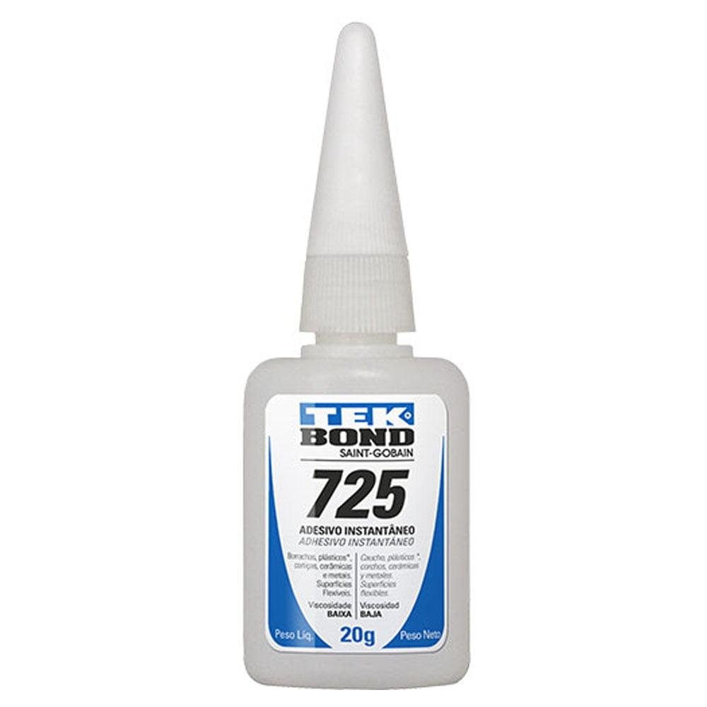 Cola adesivo Instantâneo 725 Tek Bond 20g