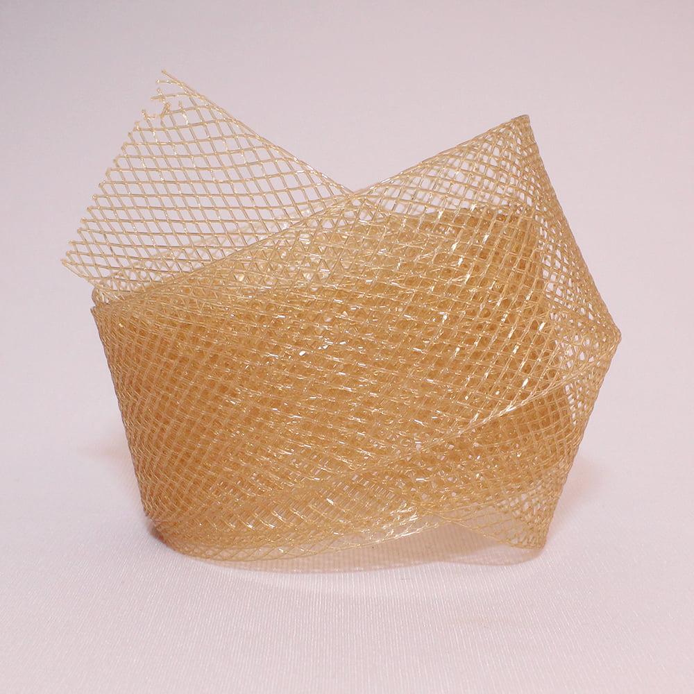 Fita Crinol 25 mm - Dourado - 1 Metro