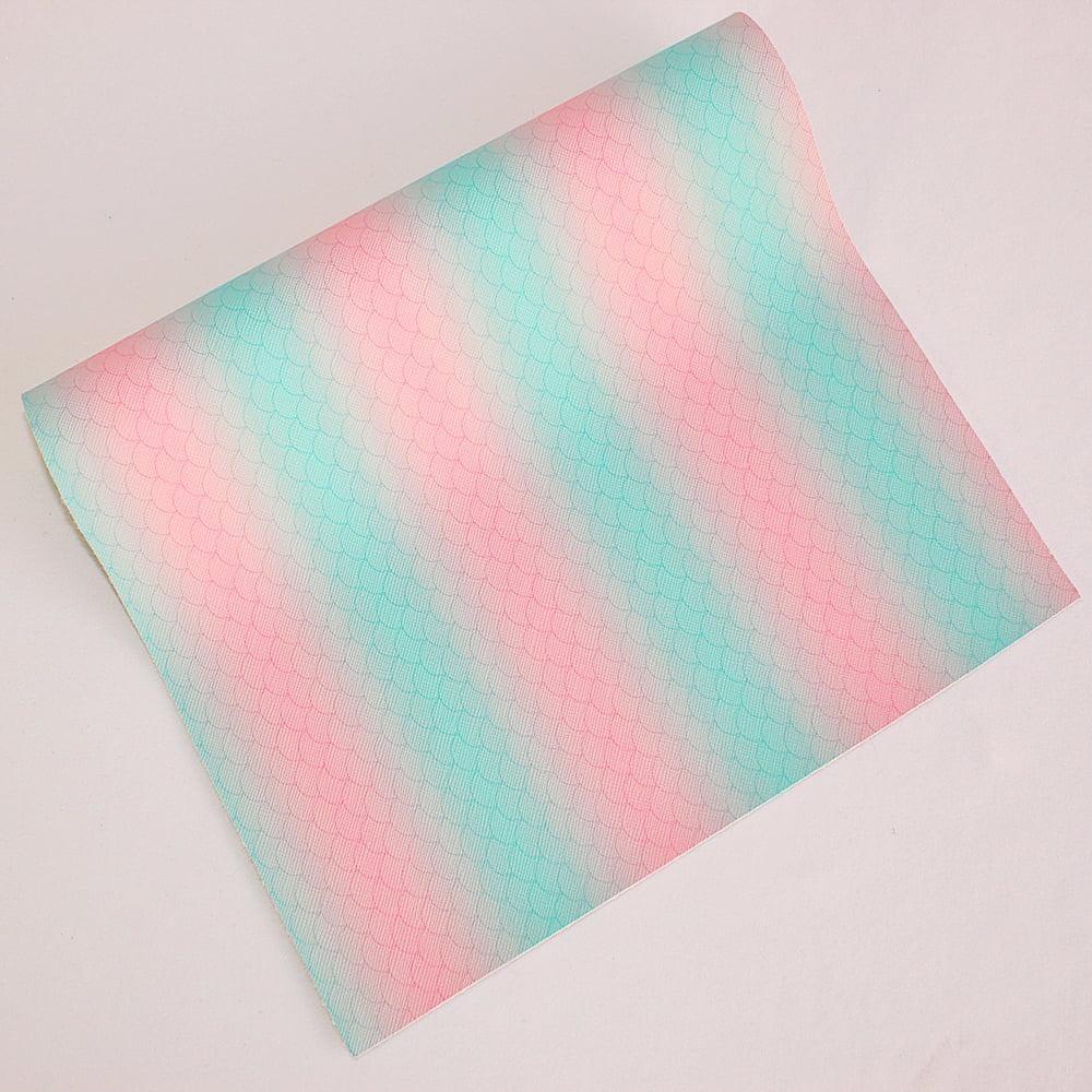 Lonita Escamas Sereia com Fundo Tie-Dye - 40 x 24 cm