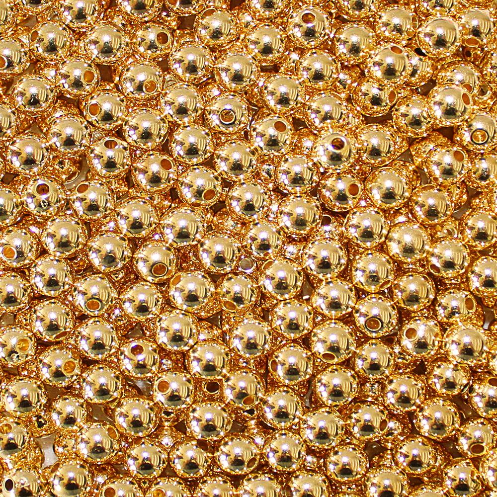 Bola lisa - 6 mm Dourada