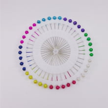 Disco de alfinetes - Ponta colorida