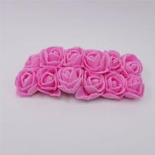 Mini rosas de EVA - Rosa