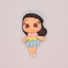 Aplique Biscuit - Bonequinha de Vestido