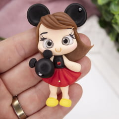 Aplique Biscuit - Bonequinha Mickey