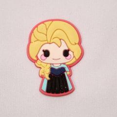 Aplique de Silicone - Princesa Elsa Frozen