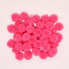 Mini Pompons Pink - 50 unidades