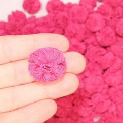 Pompom Sorvetinho de Poliéster - Rosa Pink