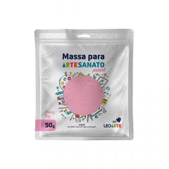 Massa de EVA para artesanato 50 g Leoarte - Rosa Pastel