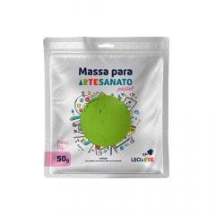 Massa de EVA para artesanato 50 g Leoarte - Verde Pastel