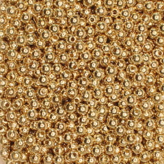 Bola lisa - 4 mm Dourada