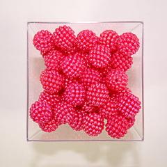 Bola craquelada - 12 mm Pink