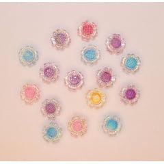Aplique Flor Cristal - 25 g