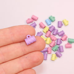 Entremeio Caneca de Plástico Colorida 10 mm