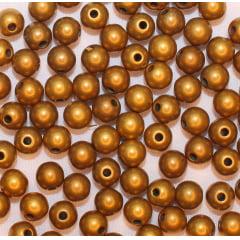Entremeio Ouro Velho Bola Lisa - 5 mm - 10 gramas
